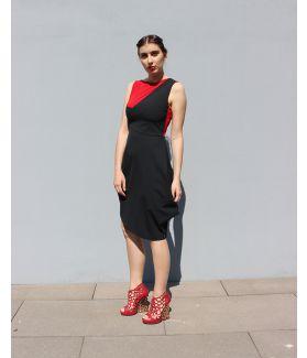 kaseee Kleid zweifarbig