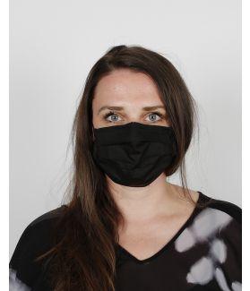 kaseee Mundbedeckung schwarz
